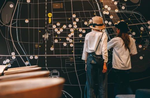 高山市内観光マップ